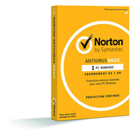 Norton Antivirus Basic 2018, 1 poste / 1 an