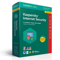 Kaspersky Internet Security 2018, 1 poste / 1 an (Mise � jour)