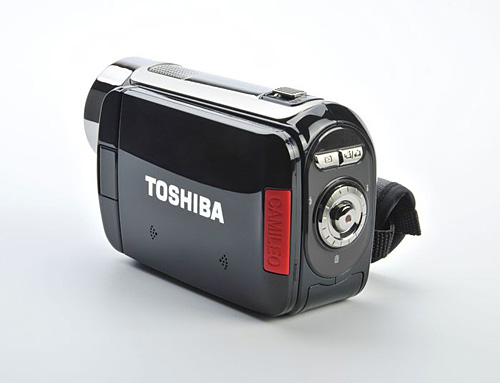 Cam�scope Toshiba Camileo H30 HD, noir