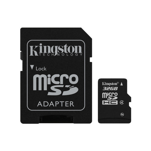 Carte Mémoire Micro SDHC Kingston SDC4 32 Go - Classe 4