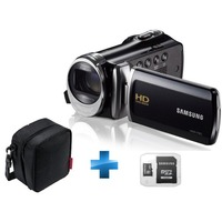 Cam�scope Samsung F920 Noir + Housse + Carte SDHC Samsung 8 Go