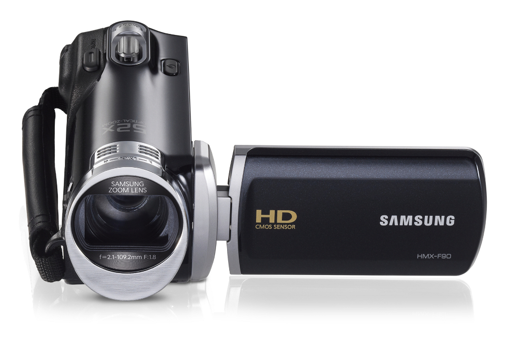 Cam scope samsung f900 noir housse carte sdhc samsung for Housse camescope