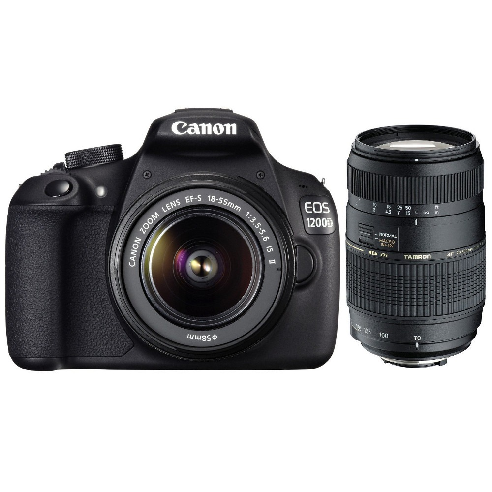canon eos 1200d objectifs 18 55 mm is ii et 70 300 mm top achat. Black Bedroom Furniture Sets. Home Design Ideas