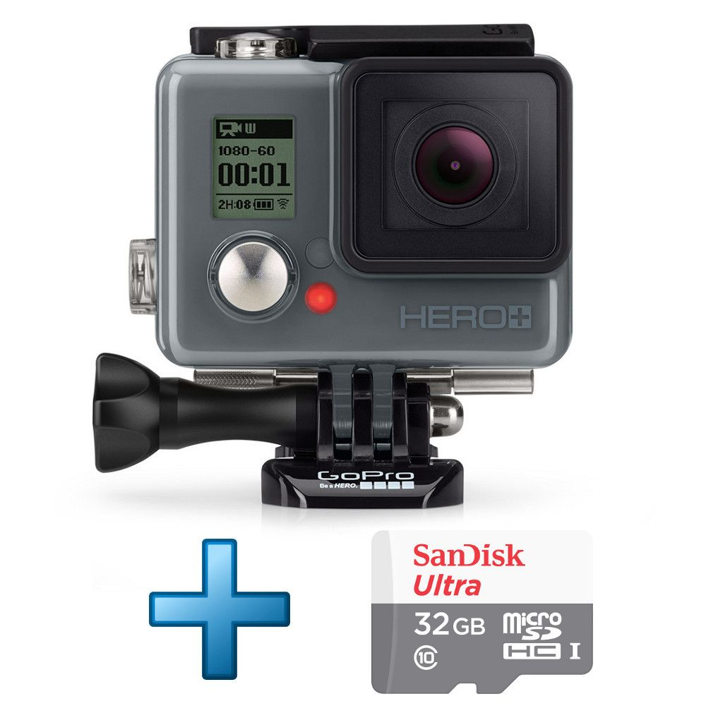gopro hero carte micro sdhc sandisk 32 go top achat. Black Bedroom Furniture Sets. Home Design Ideas