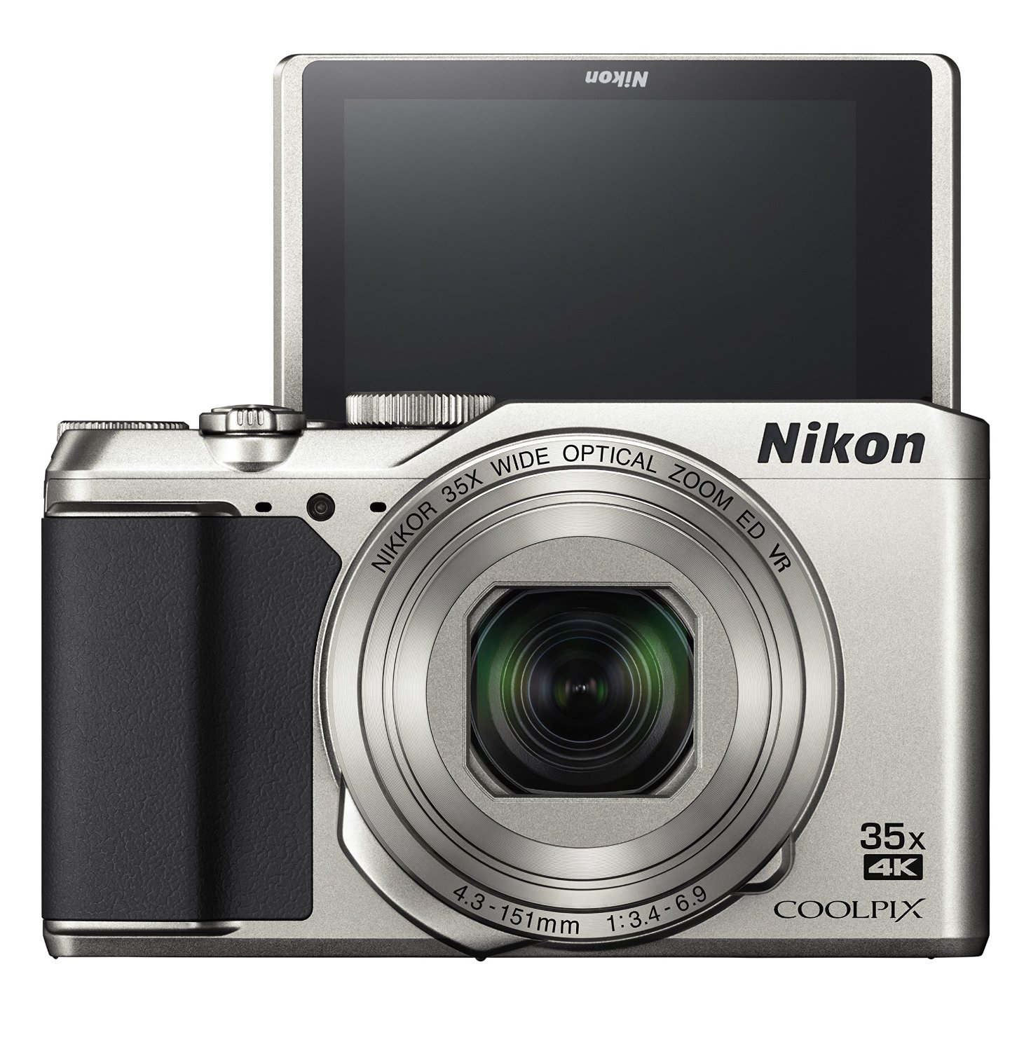 nikon nikon coolpix a900 argent appareil photo compac photovideopascher. Black Bedroom Furniture Sets. Home Design Ideas