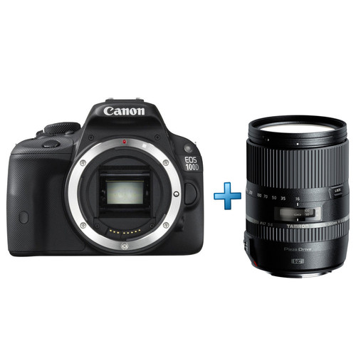 canon eos 100d tamron 18 300 mm top achat. Black Bedroom Furniture Sets. Home Design Ideas