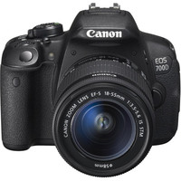 Canon EOS 700D + Objectif 18-55 mm IS STM