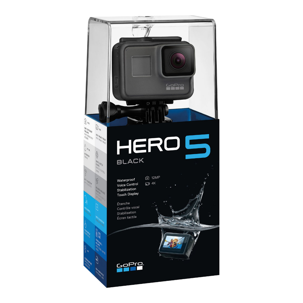 gopro hero5 black achat pas cher avis. Black Bedroom Furniture Sets. Home Design Ideas