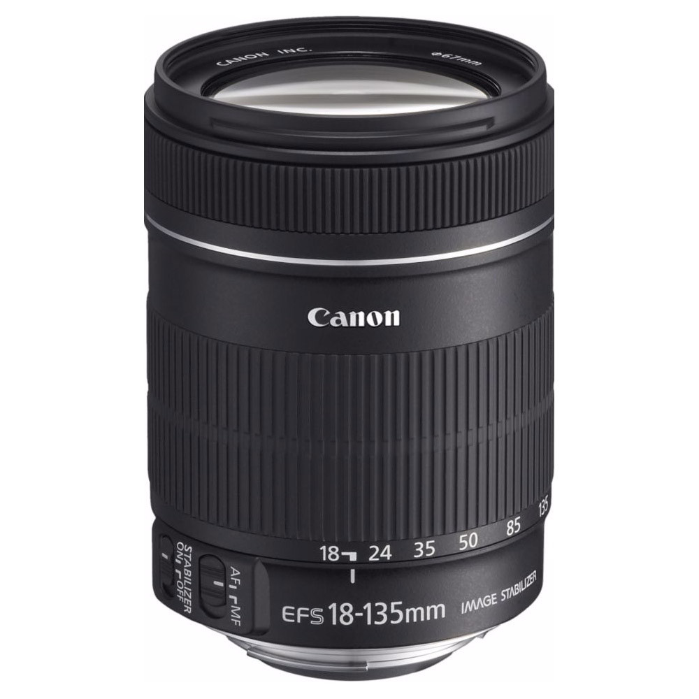 objectif canon ef s 18 135 mm f 3 5 5 6 is top achat. Black Bedroom Furniture Sets. Home Design Ideas