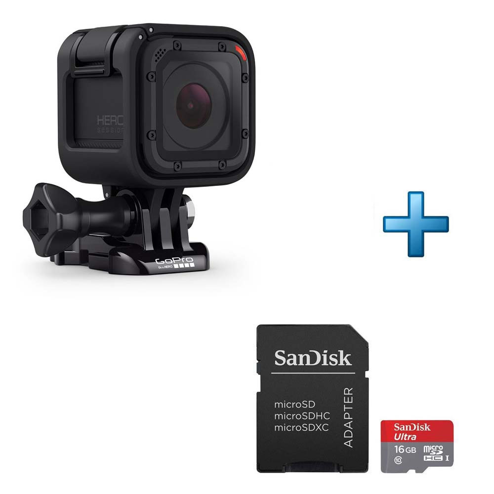 gopro hero session carte micro sd 16 go achat pas cher avis. Black Bedroom Furniture Sets. Home Design Ideas