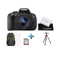 Canon EOS 700D + Objectif 18-55 mm IS STM + Batterie + Sacoche + Tr�pied