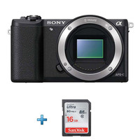Sony Alpha A5100 + Carte SD 16 Go