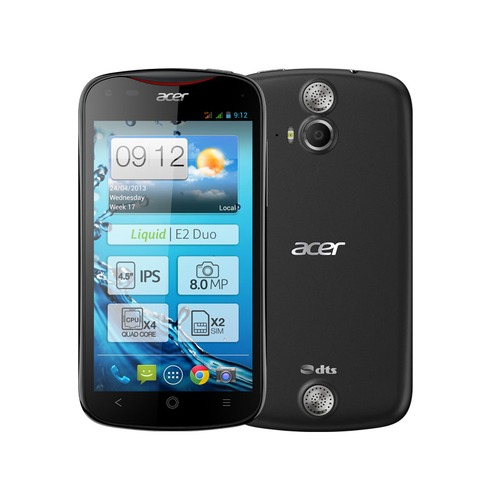 Acer Liquid E2 Duo Noir, 4.5""