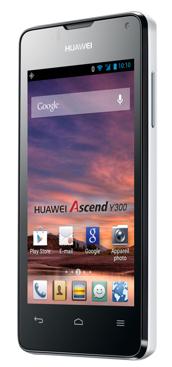huawei ascend y300 blanc 4 top achat. Black Bedroom Furniture Sets. Home Design Ideas