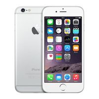 "Apple iPhone 6 Argent, 16 Go, 4.7"" HD"