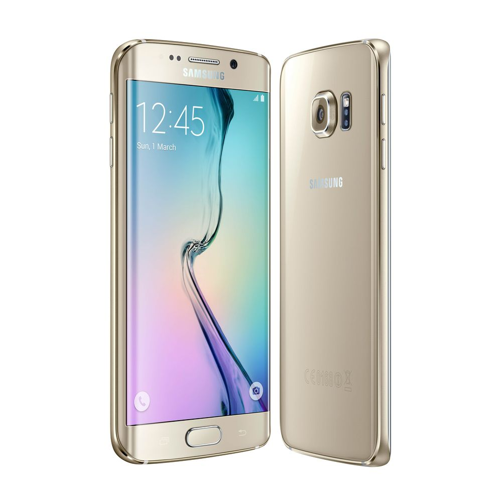 samsung galaxy s6 edge or stellaire 64 go 4g top achat. Black Bedroom Furniture Sets. Home Design Ideas