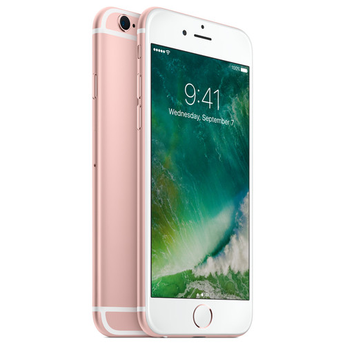 apple iphone 6s plus or rose 128 go top achat. Black Bedroom Furniture Sets. Home Design Ideas