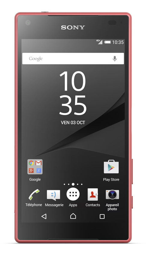 sony xperia z5 compact 4g corail top achat. Black Bedroom Furniture Sets. Home Design Ideas