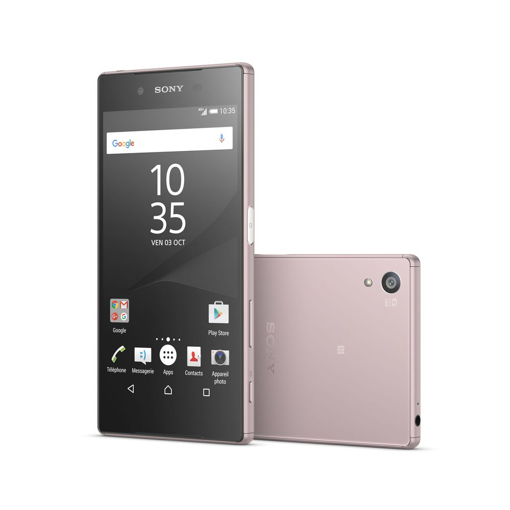 sony xperia z5 4g rose top achat. Black Bedroom Furniture Sets. Home Design Ideas
