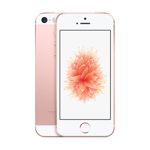 Apple iPhone SE 64 Go (4G) Or Rose