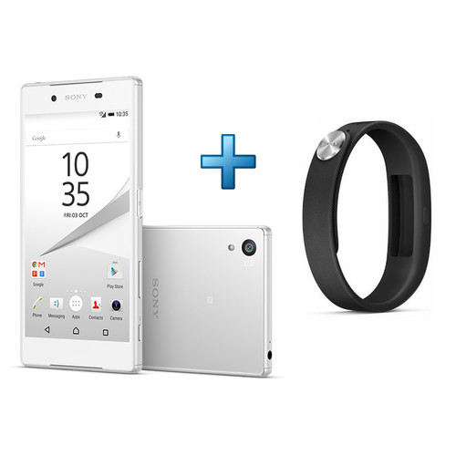 sony xperia z5 4g blanc 5 2 full hd smartband top achat. Black Bedroom Furniture Sets. Home Design Ideas