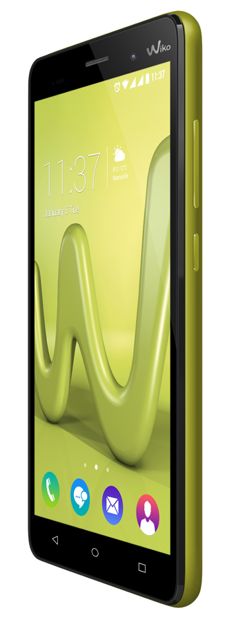 wiko lenny 3 dual sim citron vert top achat. Black Bedroom Furniture Sets. Home Design Ideas