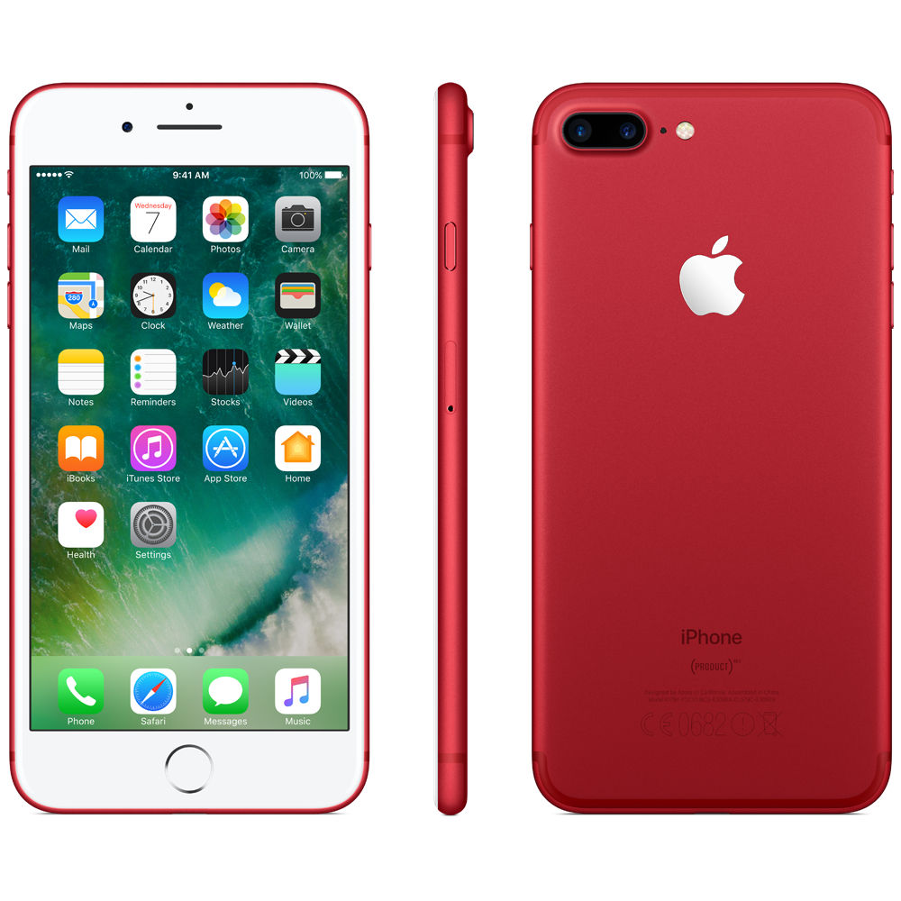 Apple IPhone 7 Plus (4G+) 128 Go Rouge (Red Product)
