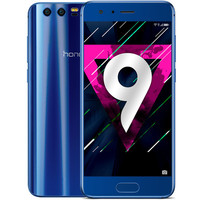 Honor 9 Dual SIM (4G) - Bleu + Coque transparente