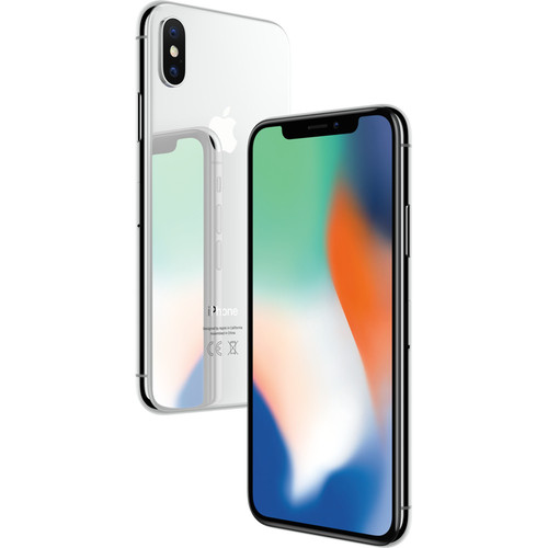 Apple iPhone X 64 Go - Argent