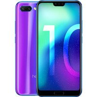 Honor 10 Dual SIM (4G) - Bleu + Coque de protection