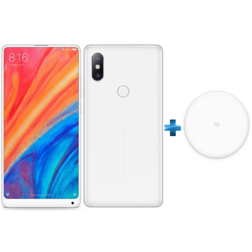 Xiaomi Mi Mix 2S 64 Go - Blanc + Chargeur induction Xiaomi