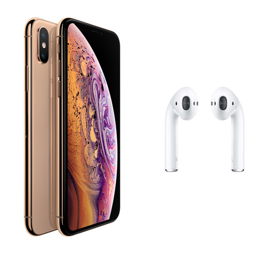 Apple iPhone Xs - 64 Go - Or + Airpods