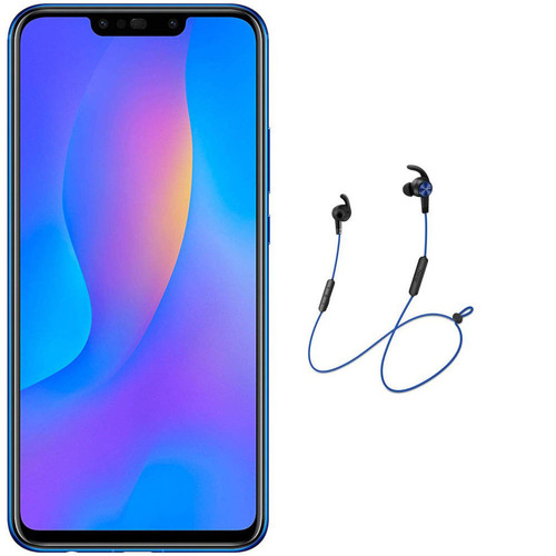 Huawei P Smart Plus - 64 Go - Violet + Casque Universal AM61 - Blue