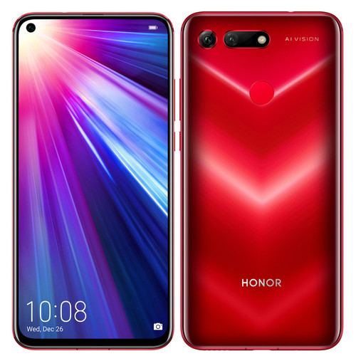 Honor View 20 - 256 Go - Rouge
