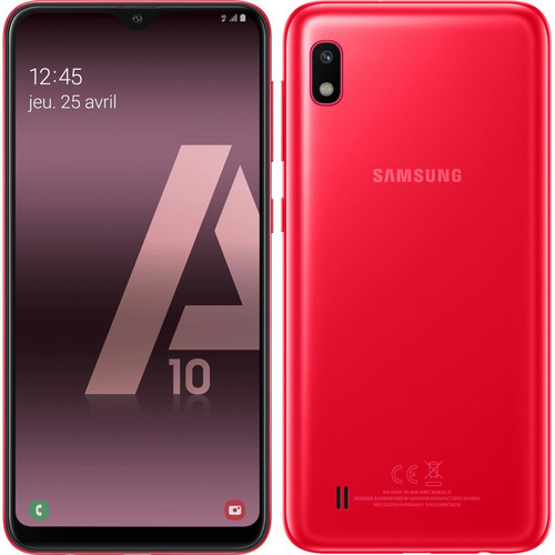Samsung Galaxy A10 - 32 Go - Rouge