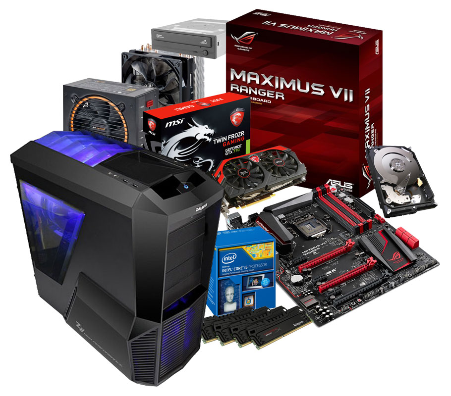 Comment monter son pc le montage pc expliqu simplement for Pc bureau sur mesure