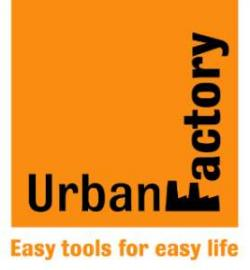 Image result for urban factory logo
